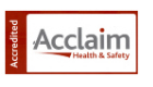 Acclaim Health and Safety Accredited
